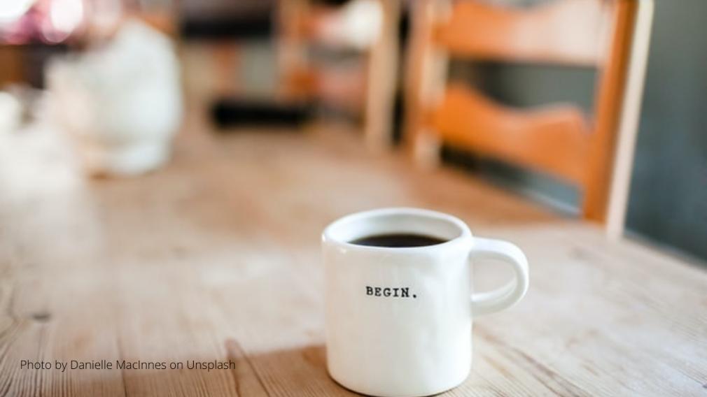 Begin Tasse. Wie du einen Unterschied in deinem Umfeld machst