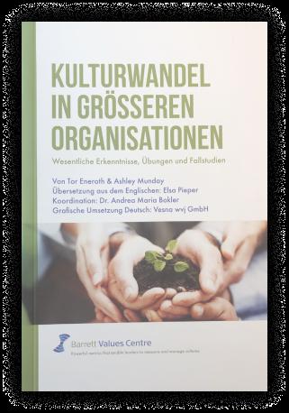 Kulturwandel in größeren Organisationen Broschüre